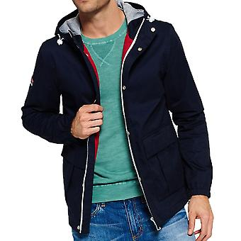 Superdry New York Harbour Coat  Nautical