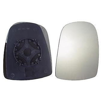 Right Mirror Glass (not heated) & Holder for OPEL VIVARO van 2001-2014