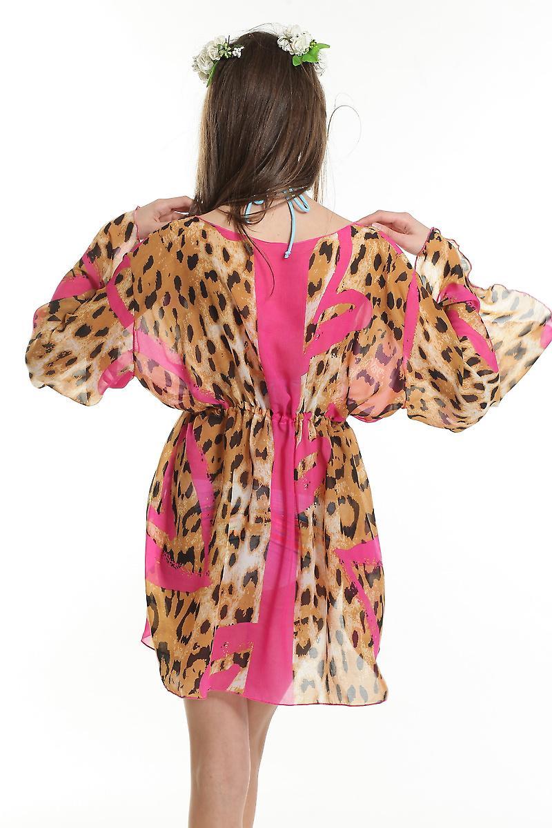 Waooh - mode - tuniek korte leopard