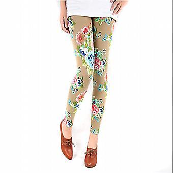 Waooh - Fashion - Flower Pattern Legging