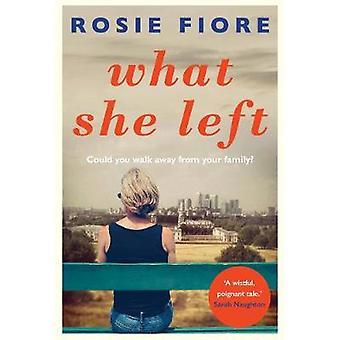 Vad hon kvar av Rosie Fiore - 9781760292492 bok