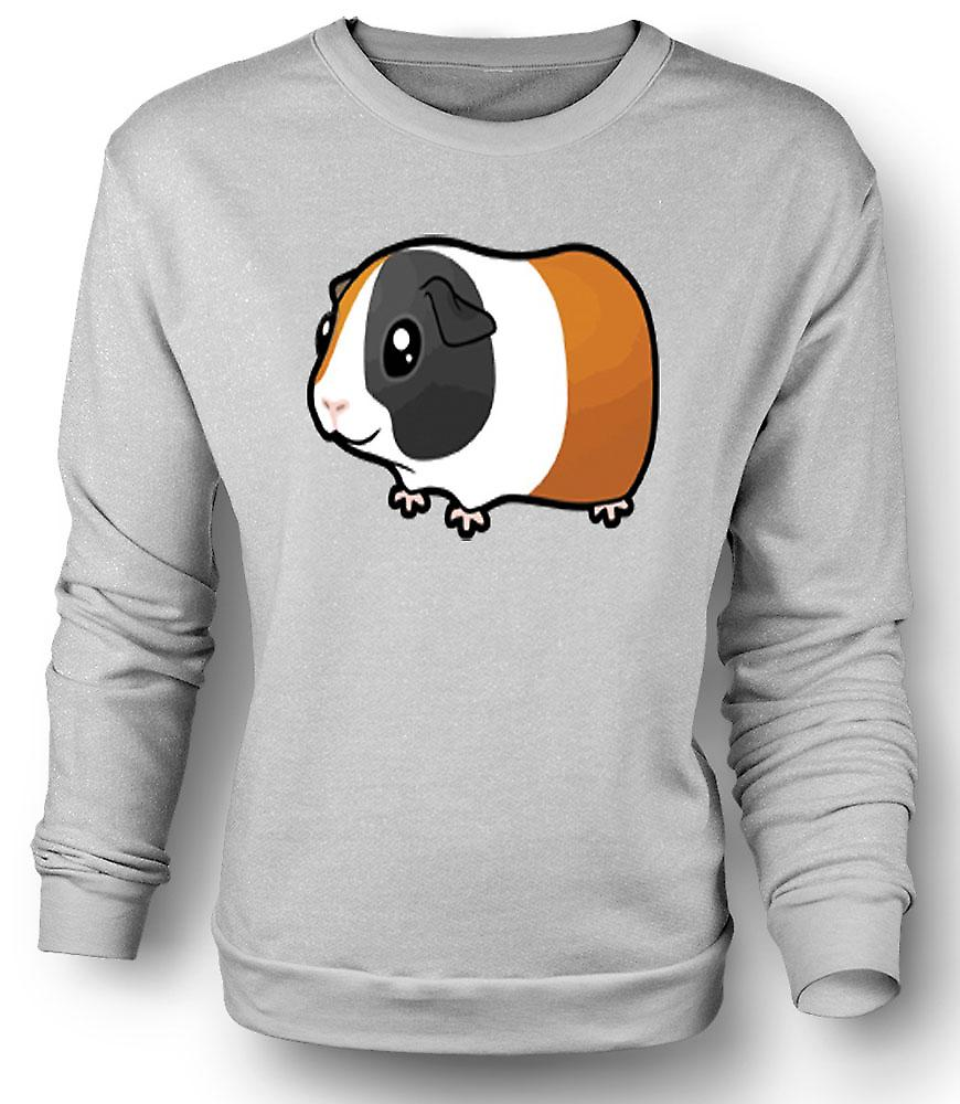 Mens Sweatshirt Cartoon marsvin Design