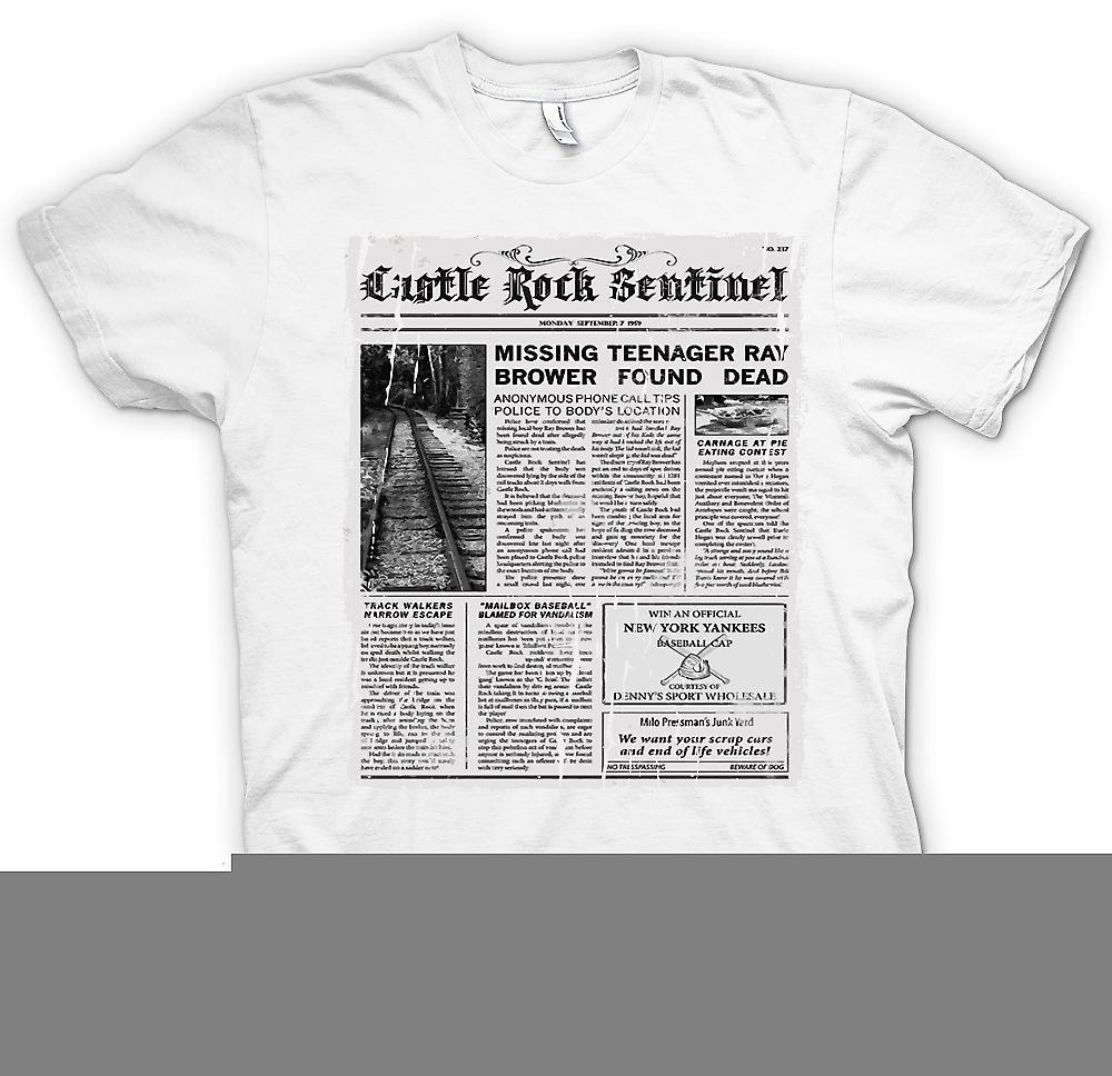 Mens t-shirt - Castle Rock Sentinel - Stand By Me ispirato