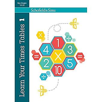 Learn Your Times Tables: Bk. 1