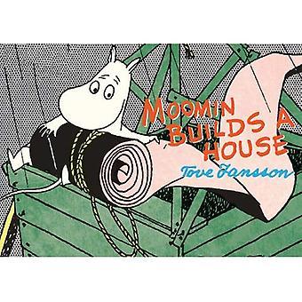 Mumin bygger ett hus