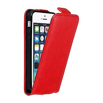 Cadorabo case for Apple iPhone 5, iPhone 5S / SE iPhone Flip case cover