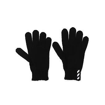 Off-white Black Wool Gloves