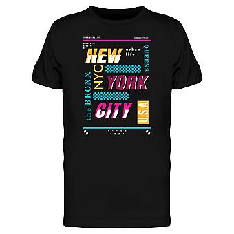 New York City The Bronx Tee Men's -Image by Shutterstock