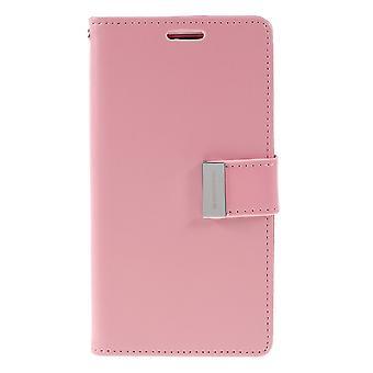 Mercury GOOSPERY Rich Diary to Samsung Galaxy S10e-Pink
