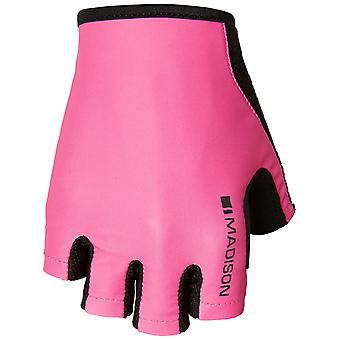 Madison Pink Glo 2018 Track Womens Fingerless Cycling Gloves