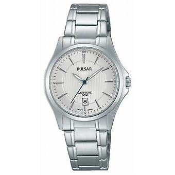 Pulsar Ladies Stainless Steel Silver Dial PH7423X1 Watch