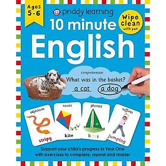 10 Minute English by Roger Priddy - 9781783416585 Book