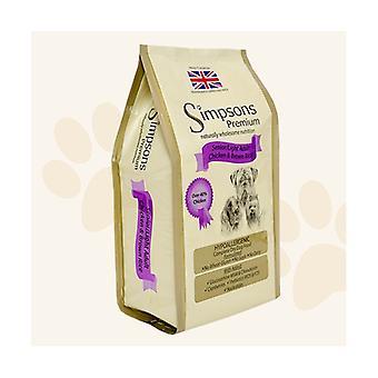 Simpsons Premium Senior/Light Chicken & Brown Rice Dry Dog Food - 2kg