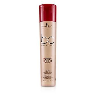 Schwarzkopf BC Bonacure Peptide Repair Rescue Micellar Shampoo (For Fine to Normal Damaged Hair) 250ml/8.5oz