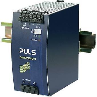 PULS DIMENSION QS10.481 Rail mounted PSU (DIN) 48 Vdc 5 A 240 W 1 x