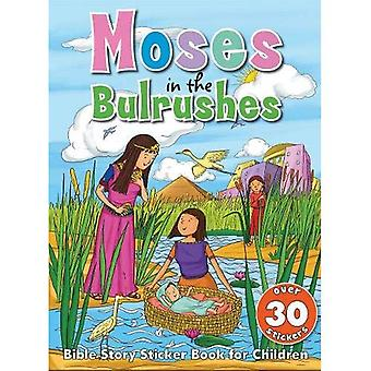 Bible Sticker Book - Moses in the Bullrushes