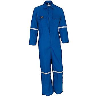 Wenaas Coverall Royal Nomex 1 150Gm 4.5Oz Reflective Tape 89334-16100-45