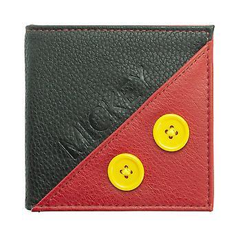 Disney Mickey Mouse bolsa Premium vermelho e preto, feito de poliuretano.