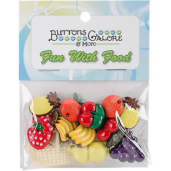 Button Theme Pack-Fruit Basket BTP-4095