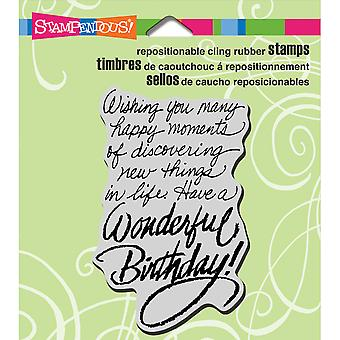 Stampendous Cling Stamp 3.5