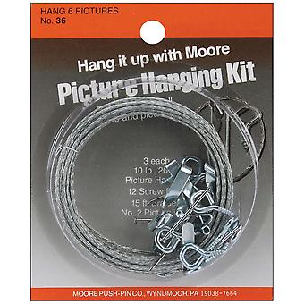 Picture Hanging Kit 36
