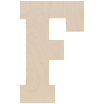 Baltic Birch Collegiate Font Letters & Numbers 13.5