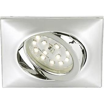 LED flush mount light 5 W Warm white Briloner 7210-018 Chrome