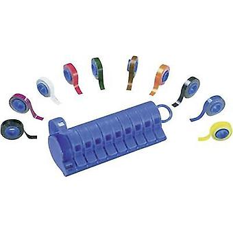 Cable marker dispenser and rolls PMD-NEMA Black, Light blue, Brown, Grey, Green, Orange, Purple, Red, White, Yellow Pa
