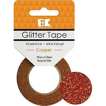 Best Creation Glitter Tape 15mmX5m-Copper GTS-005