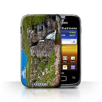 STUFF4 Case/Cover for Samsung Galaxy Y Duos/S6102/Waterfall/Stream/Scottish Landscape