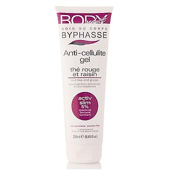 Byphasse Cellulite Gel Tea Red & Grape 250 Ml