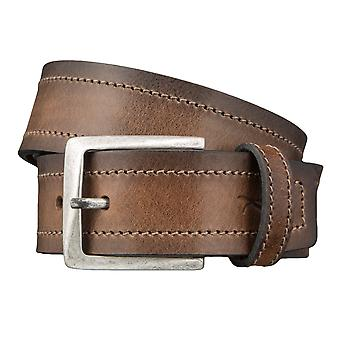BRAX belts men's belts leather belt cowhide Brown 3427