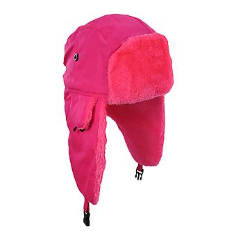 Bright Neon Faux Fur Winter Trooper Hat Cap