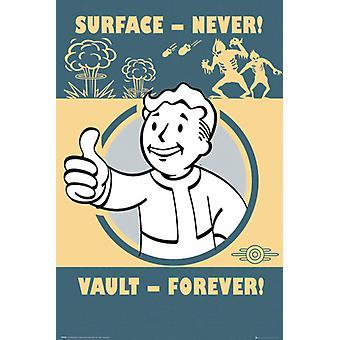 Fallout 4 bóveda siempre Maxi Poster