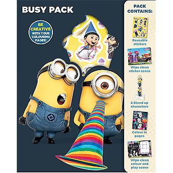 Despicable Me Childrens Activity Busy Pack