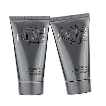 Sean John I Am King After Shave Balm Duo Pack (Unboxed) 2x75ml/2.5oz