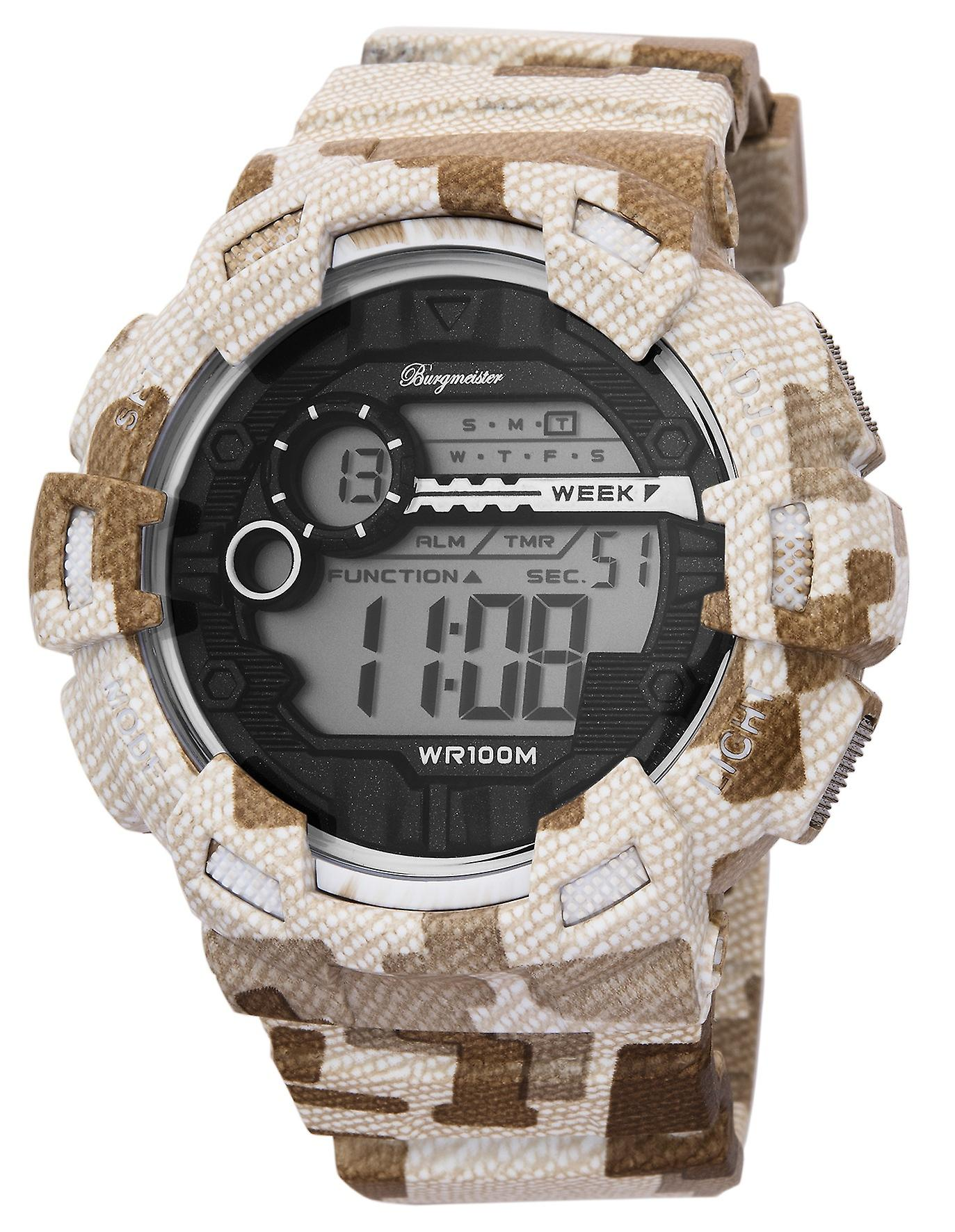 Burgmeister gents alarm Chronograph digital Watch Halifax BM803-025