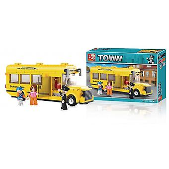 Sluban Building blocs ville série School Bus