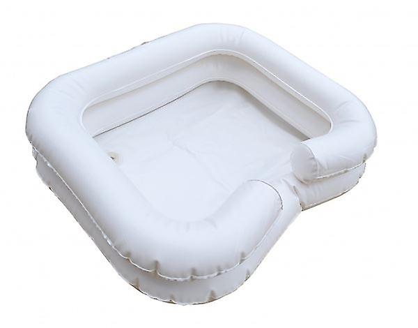 Inflatable Hair Wash Basin Can Be Inflated By Mouth Or Using Pump