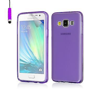 Kristall-Gel Case für Samsung Galaxy A3 SM-A300 (2015) - lila