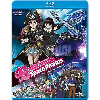 Bodacious Pirates de l'espace: Complete Collection [BLU-RAY] USA import