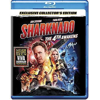 Sharknado: 4 Awakens [Blu-ray] USA importerer