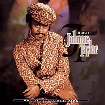 Johnnie Taylor - appréciation Traordinaire-X-Best of import USA [CD]