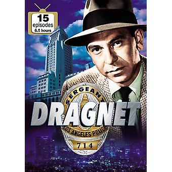 Dragnet: 15 episoder [DVD] USA importerer