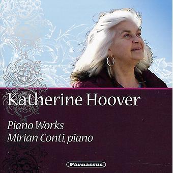 Katherine Hoover - Katherine Hoover: Klaver værker [CD] USA import