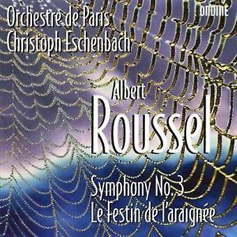 A. Roussel - Roussel: Symphony No. 3; Le Festin De L'Araign E [CD] USA import
