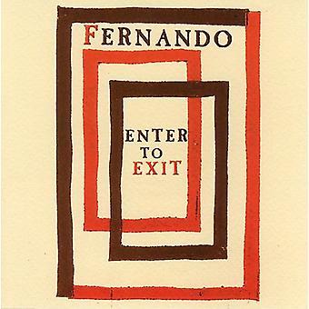 Fernando - Enter to Exit [CD] USA import