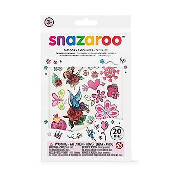 Snazaroo 1198314 Face Paint Temporary Tattoo Set, Girls Fantasy