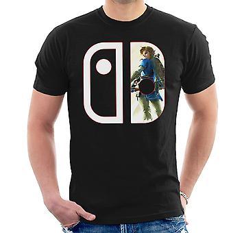 Nintendo Switch Link Legend Of Zelda Men's T-Shirt