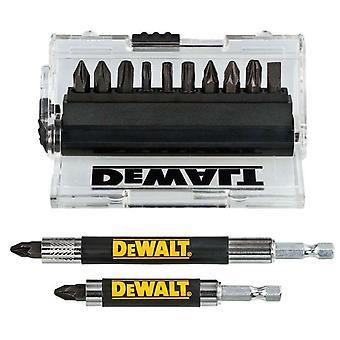 DeWALT DT70512T-QZ Auswirkungen Torsion Schraubendreher Bit 14 pc + Drive Guide